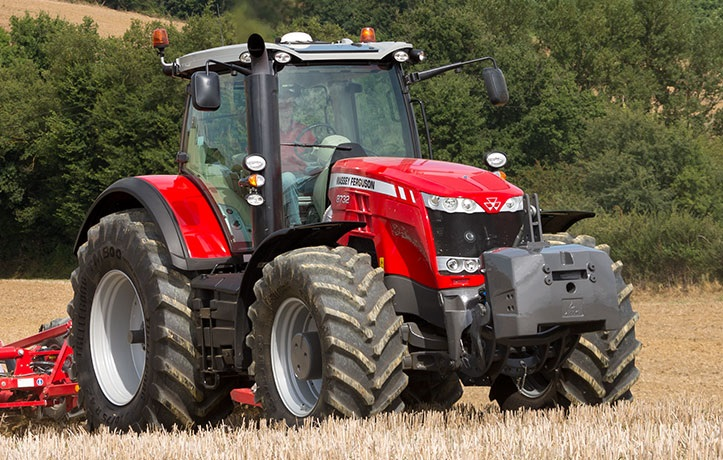 Photo du Tracteurs agricoles MF 8732 Dyna-VT