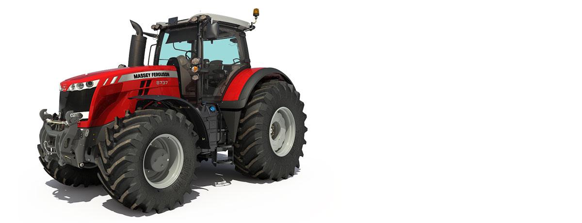 Photo du Tracteurs agricoles MF 8735 Dyna-VT