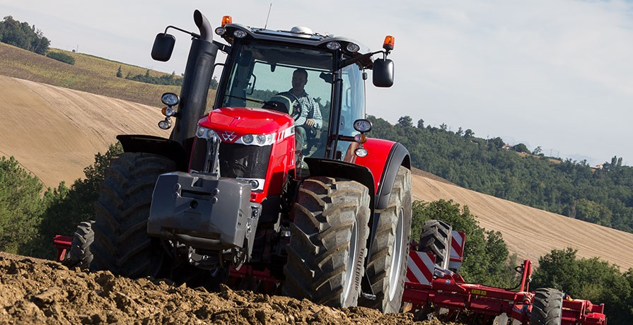 Photo du Tracteurs agricoles MF 8737 Dyna-VT