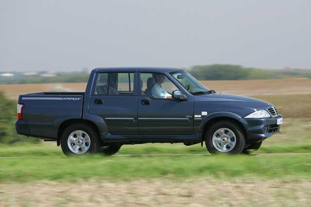 Photo du 4x4 Musso Sports Pick-Up