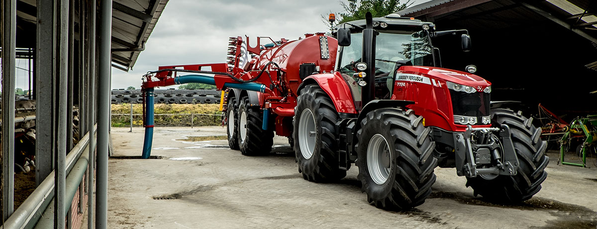 Photo du Tracteurs agricoles MF 7724 Dyna-6 / Dyna-VT