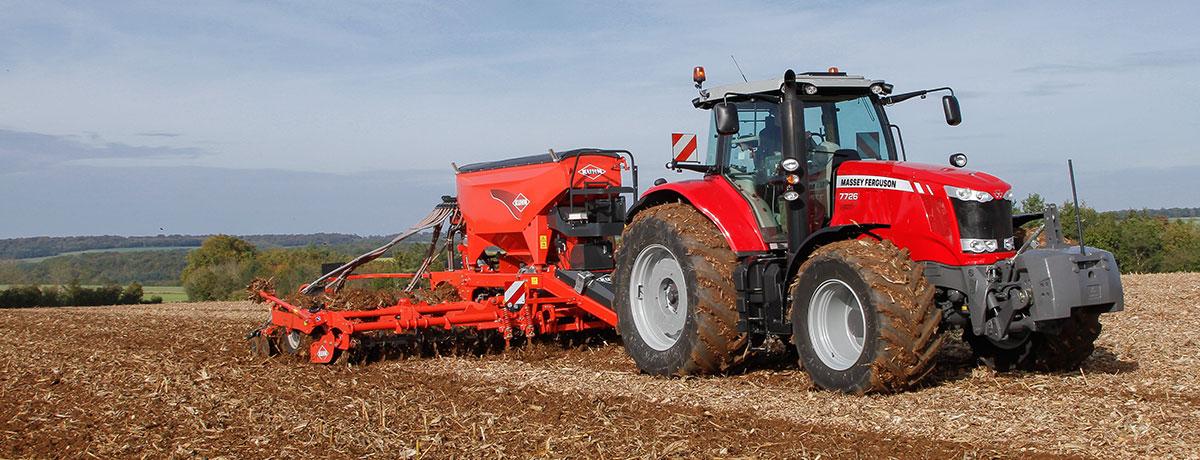 Photo du Tracteurs agricoles MF 7726 Dyna-6 / Dyna-VT