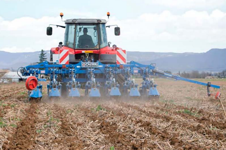Photo du Strip-Till INRO