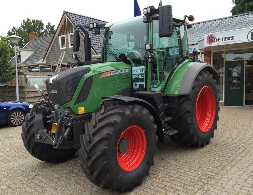 Photo du Tracteurs agricoles FENDT VARIO 313 S4