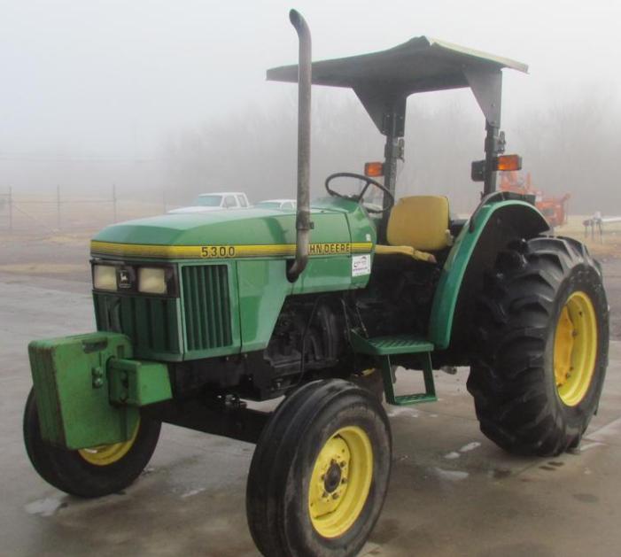 Photo du Tracteurs agricoles 5300 Cadre