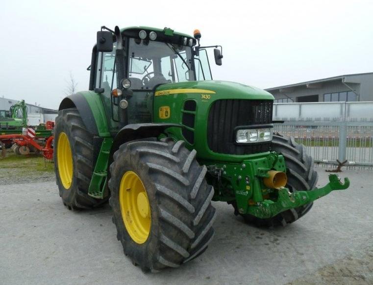 Photo du Tracteurs agricoles 7430E Premium