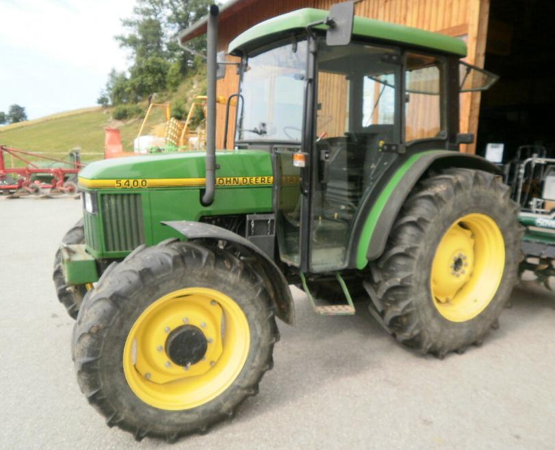 Photo du Tracteurs agricoles 5400 Cadre