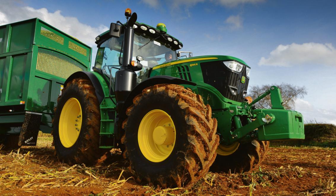 Photo du Tracteurs agricoles 6195R DirectDrive