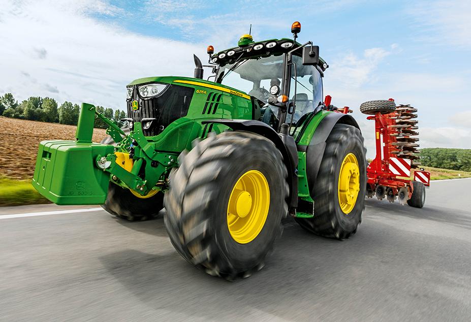 Photo du Tracteurs agricoles 6215R DirectDrive