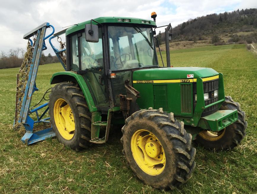 Photo du Tracteurs agricoles 6110 30 Km/h