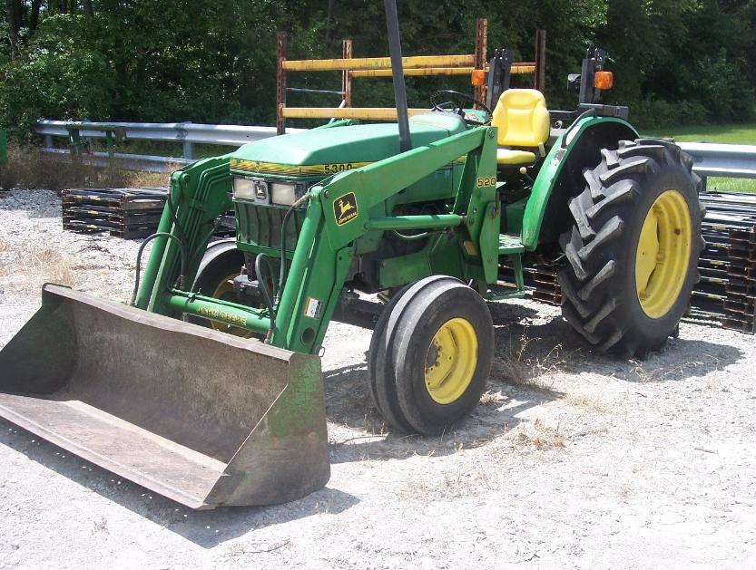 Photo du Autres tracteurs 5300N Arceau Rabattable