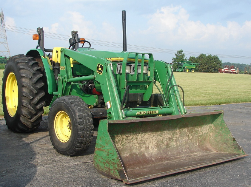 Photo du Autres tracteurs 5400N Arceau Rabattable