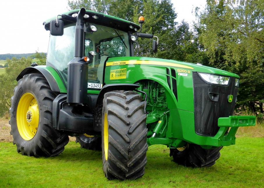 Photo du Tracteurs agricoles 8260R