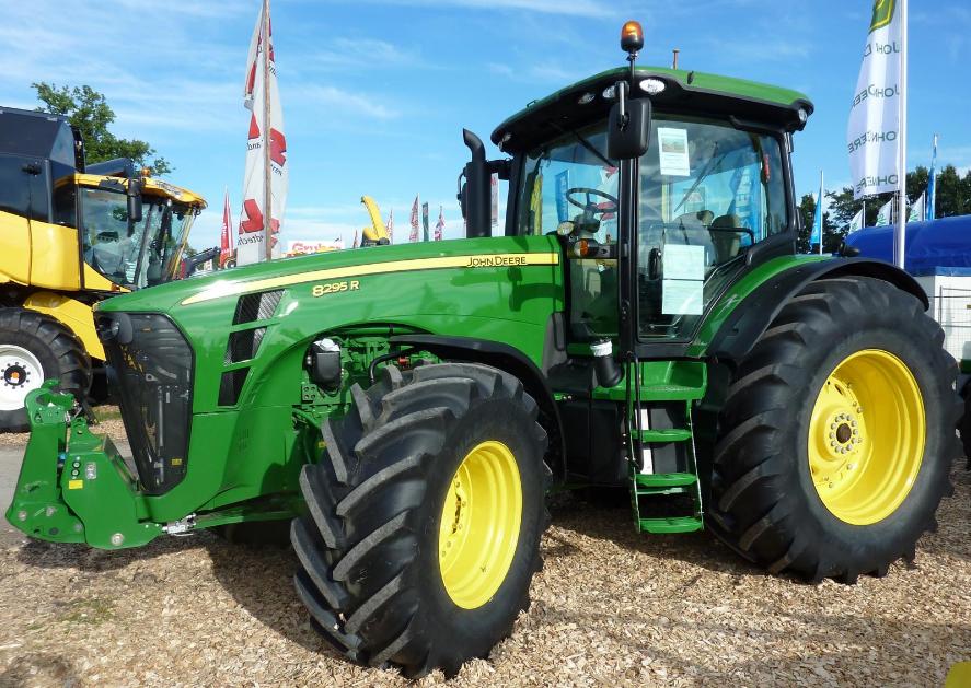 Photo du Tracteurs agricoles 8295R