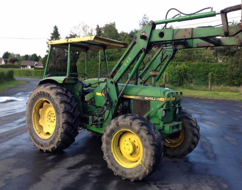 Photo du Tracteurs agricoles 1640 SG2