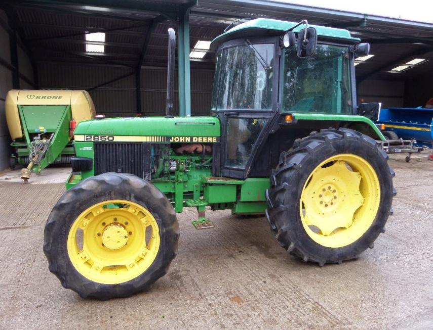Photo du Tracteurs agricoles 2850 SG2 Confort