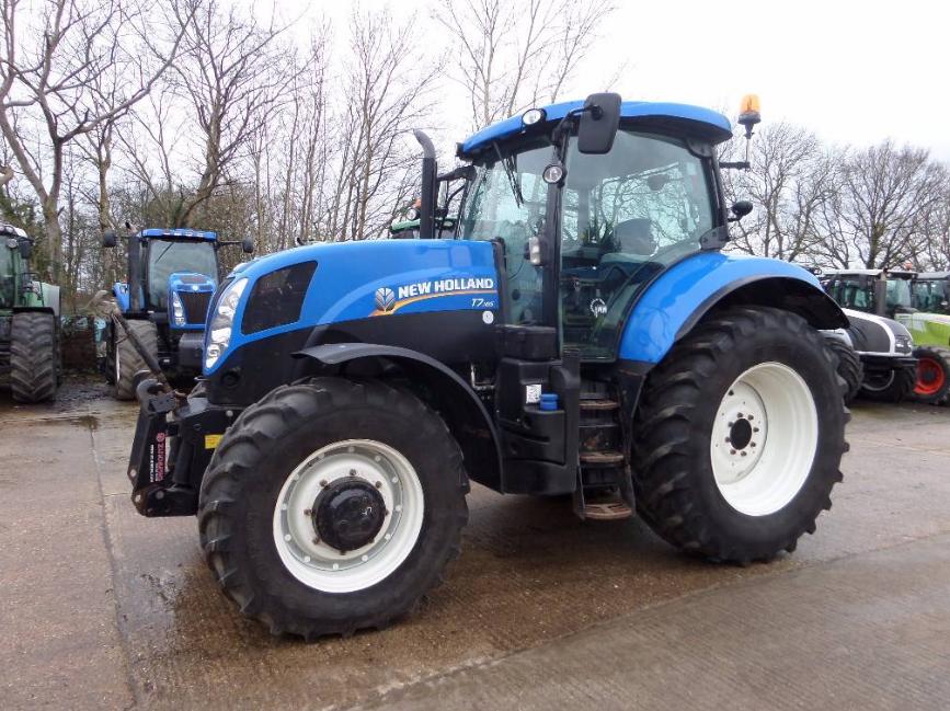 Photo du Tracteurs agricoles T7.185 Range Command
