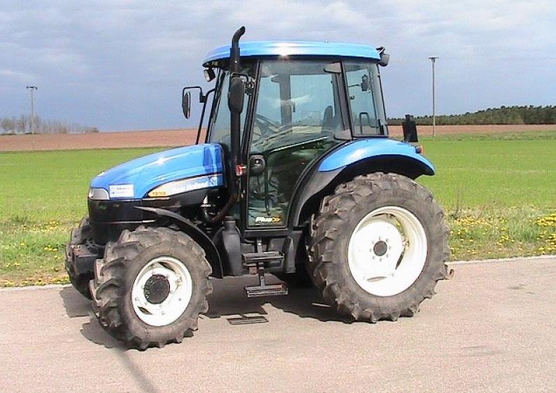 Photo du Tracteurs agricoles TD 75 D Cabine