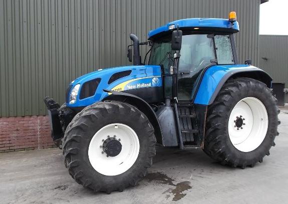 Photo du Tracteurs agricoles T7550