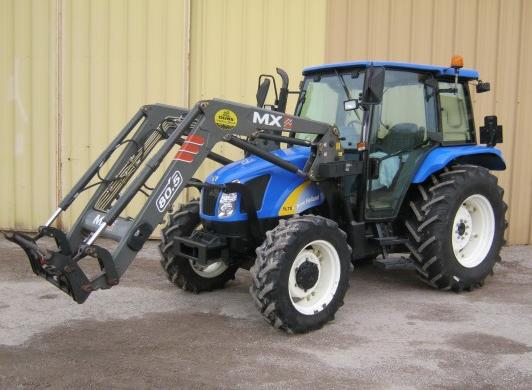 Photo du Tracteurs agricoles TL70A Cabine Shuttle Command