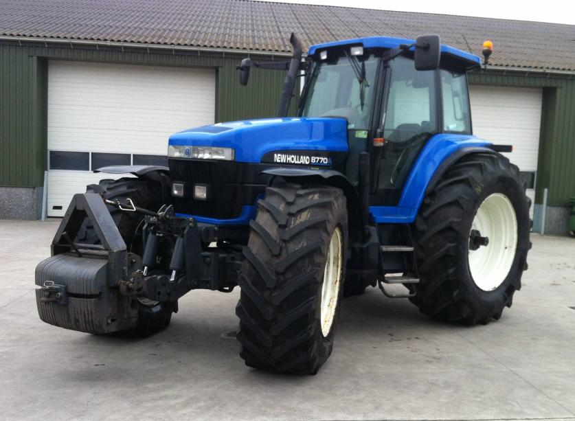 Photo du Tracteurs agricoles 8770