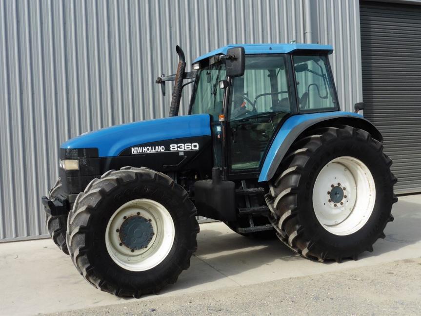 Photo du Tracteurs agricoles 8360 Club Range