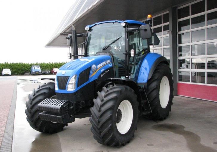 Photo du Tracteurs agricoles TS115A Electro Command