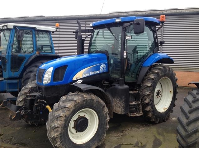 Photo du Tracteurs agricoles TS115A Plus