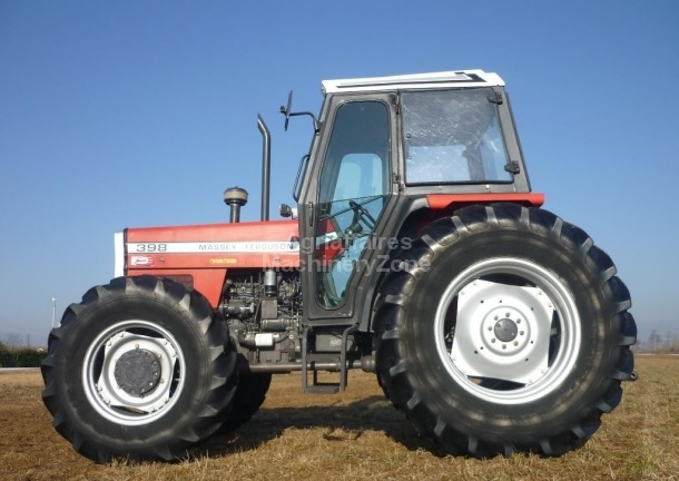 Photo du Tracteurs agricoles MF 398 Cabine