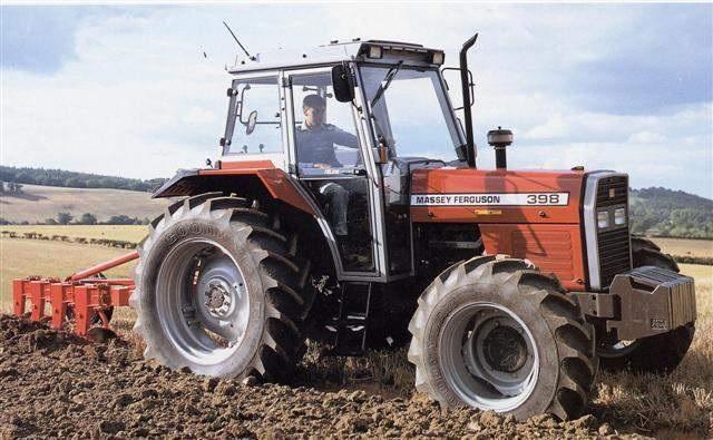 Photo du Tracteurs agricoles MF 398 Confort