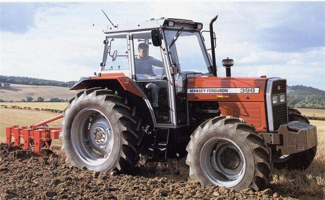 Photo du Tracteurs agricoles MF 398 Confort