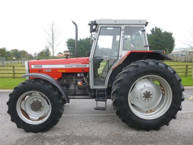 Photo du Tracteurs agricoles MF 399 Hiline