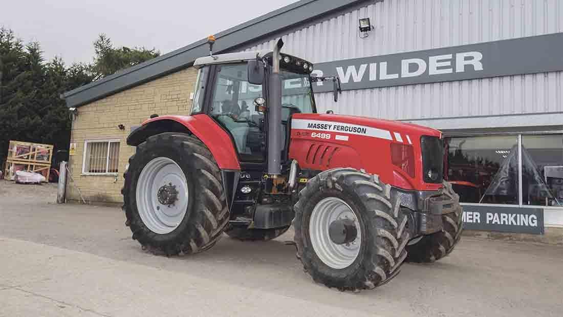 Photo du Tracteurs agricoles MF 6499 Elite