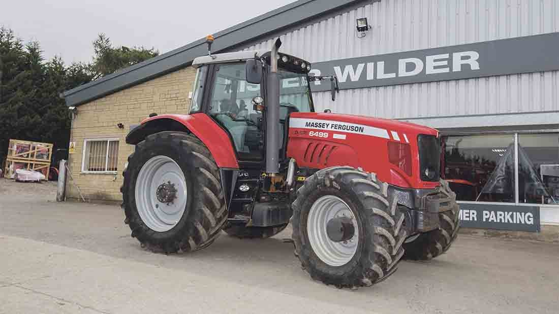 Photo du Tracteurs agricoles MF 6499 Elite