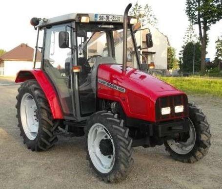 Photo du Tracteurs agricoles MF 4220 Confort Capot Plongeant