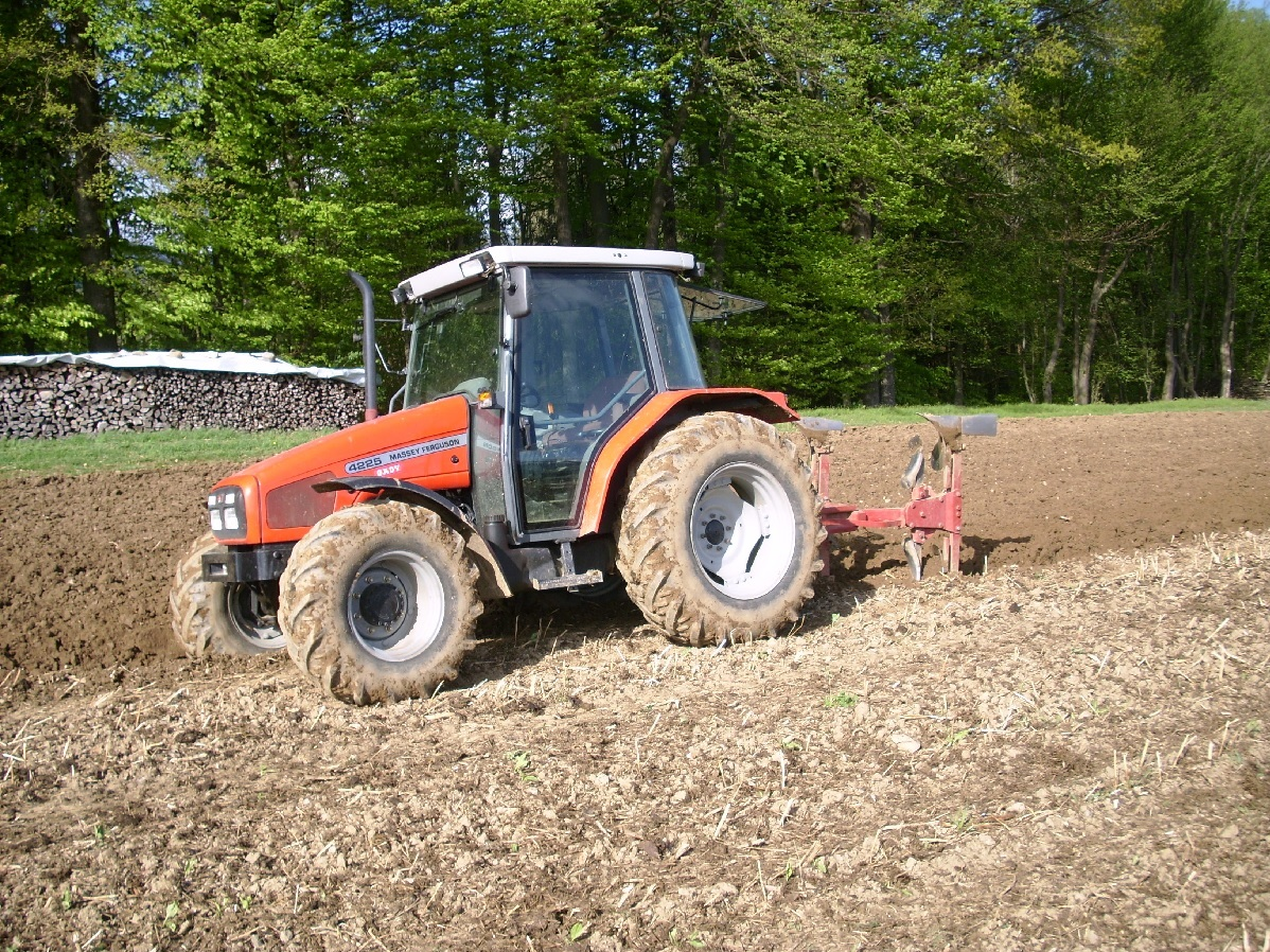 Photo du Tracteurs agricoles MF 4225 Confort Capot Plongeant