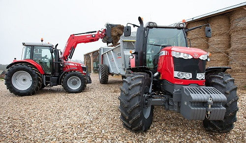 Photo du Tracteurs agricoles MF 6613 Dyna-4