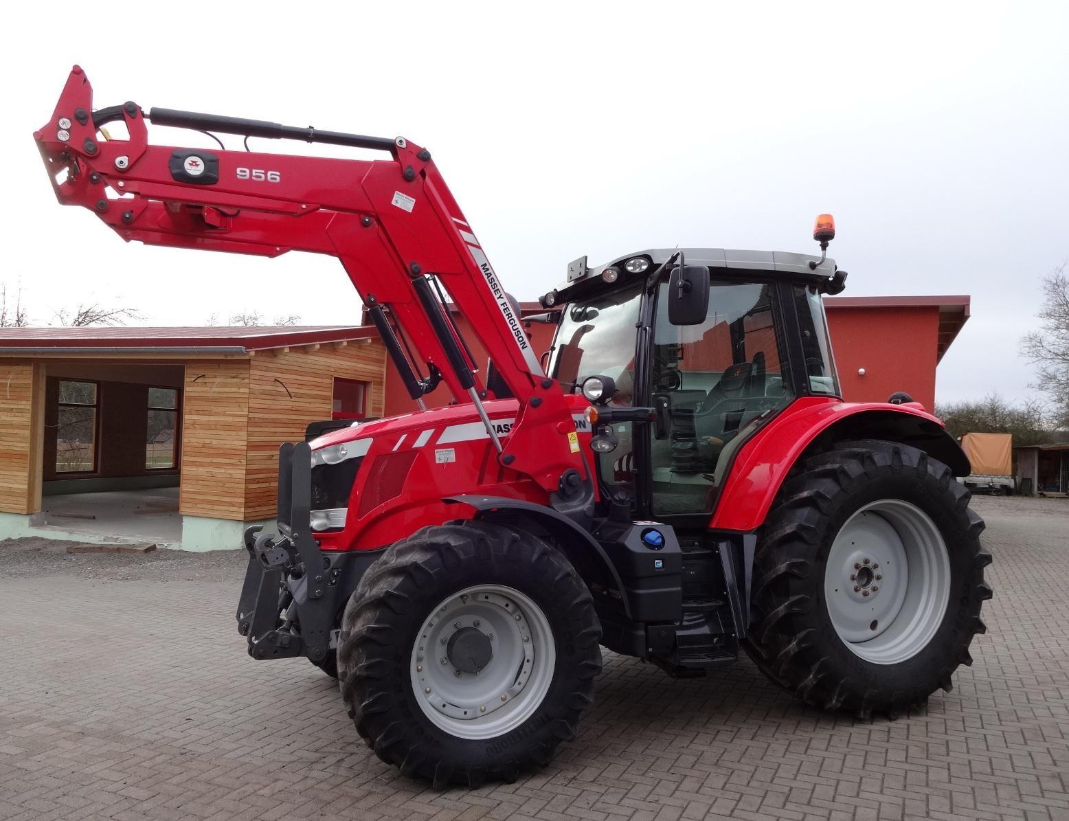 Photo du Tracteurs agricoles MF 6613 Dyna-6