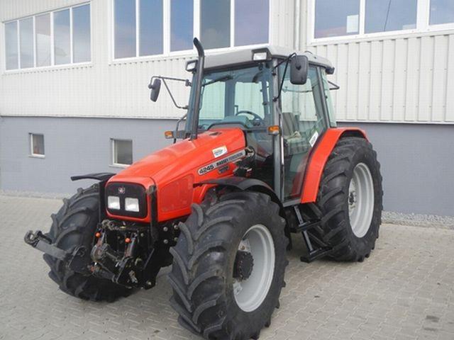 Photo du Tracteurs agricoles MF 4245 Confort Capot Plongeant