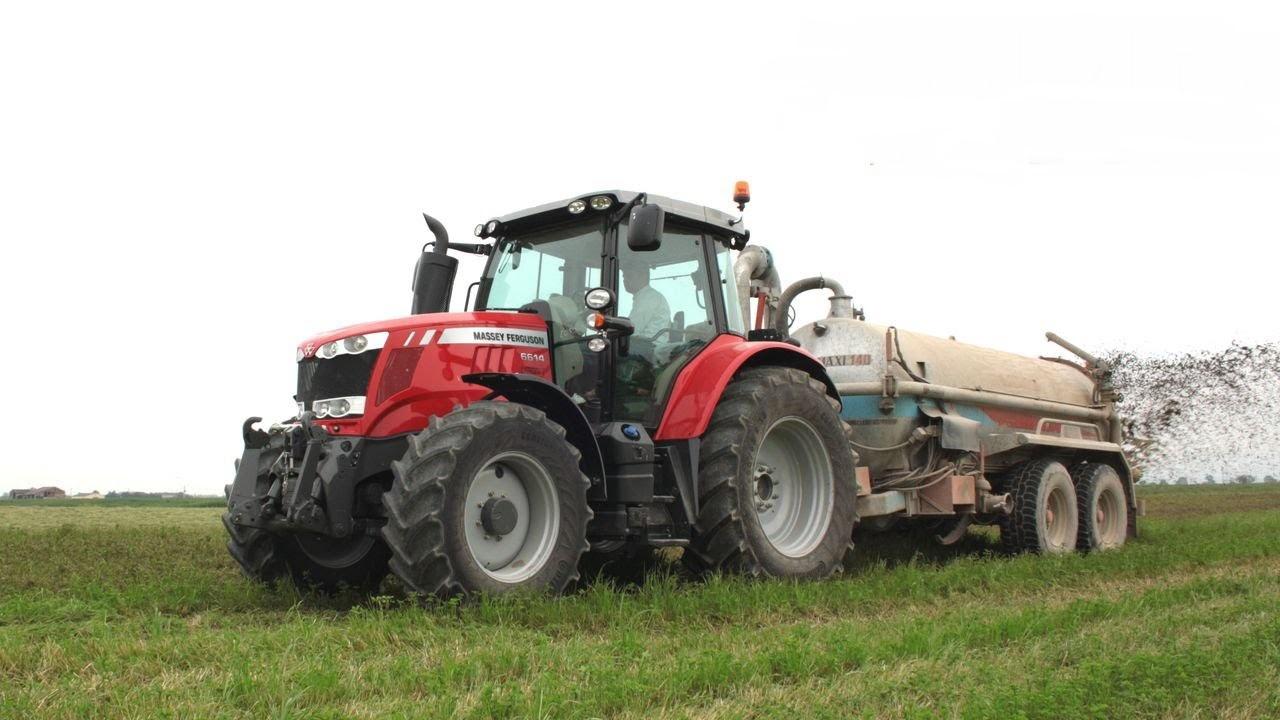 Photo du Tracteurs agricoles MF 6614 Dyna-6
