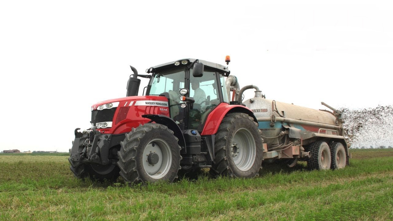 Photo du Tracteurs agricoles MF 6614 Dyna-6