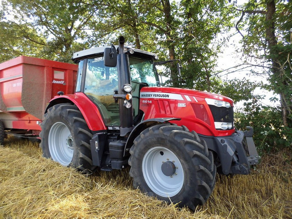 Photo du Tracteurs agricoles MF 6614 VT