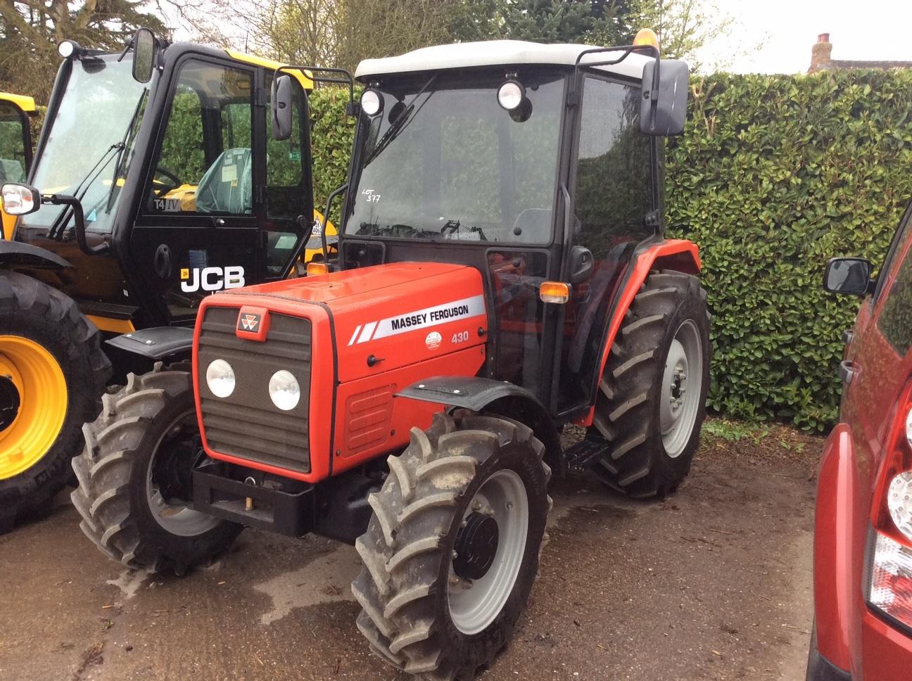 Photo du Tracteurs agricoles MF 430