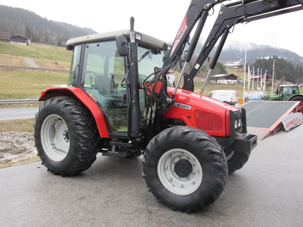 Photo du Tracteurs agricoles MF 4325 Confort Capot Plongeant