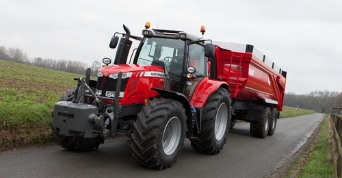 Photo du Tracteurs agricoles MF 6615 Dyna-6