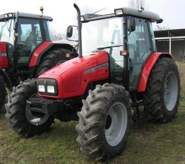 Photo du Tracteurs agricoles MF 4335 Confort Capot Plongeant