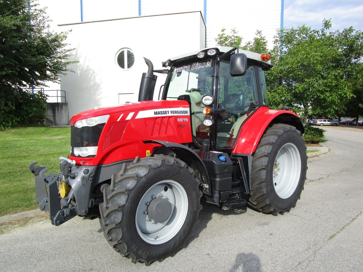 Photo du Tracteurs agricoles MF 6615 VT