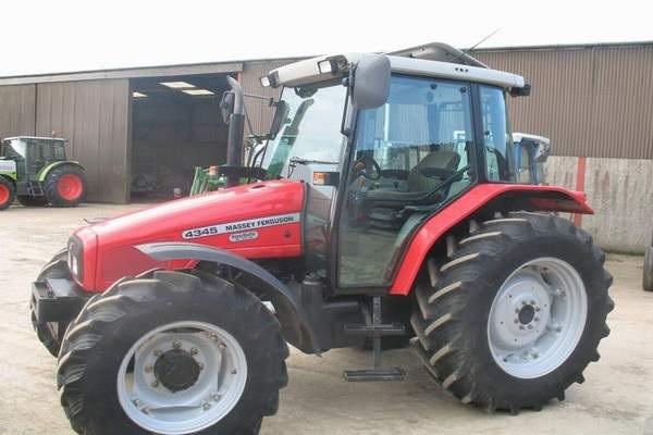 Photo du Tracteurs agricoles MF 4345 Confort Capot Plongeant