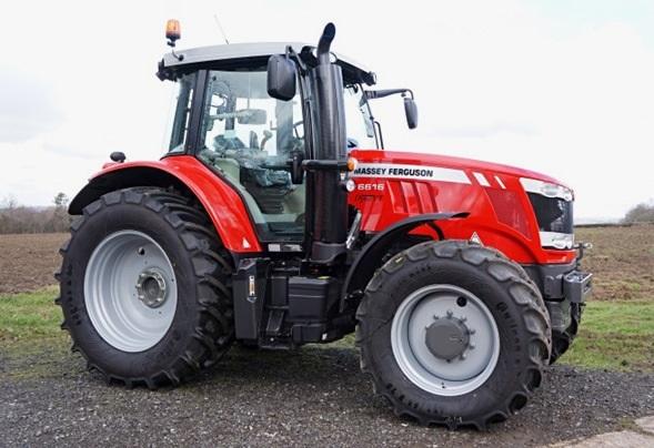 Photo du Tracteurs agricoles MF 6616 Dyna-6