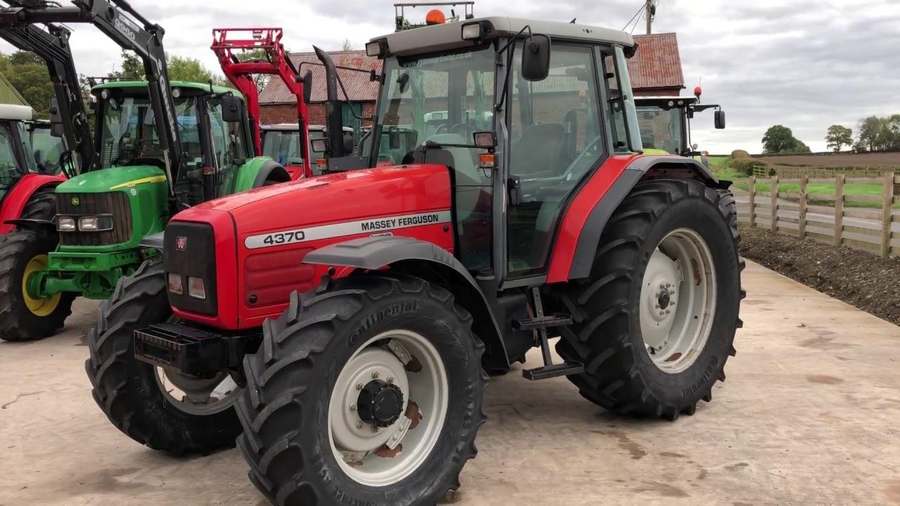 Photo du Tracteurs agricoles MF 4370 Luxe